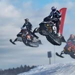7 апреля в Ханты-Мансийске в пойме реки Горная (Югорская Долина) прошли Окружные соревнования по снегоходному кроссу.