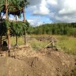 В Нефтеюганске ведется строительство страйкбольного лагеря (фото)