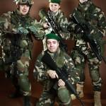 Участники «ШТУРМА». Команда 2.R.E.I. – 2-ой пехотный полк Иностранного легиона.
