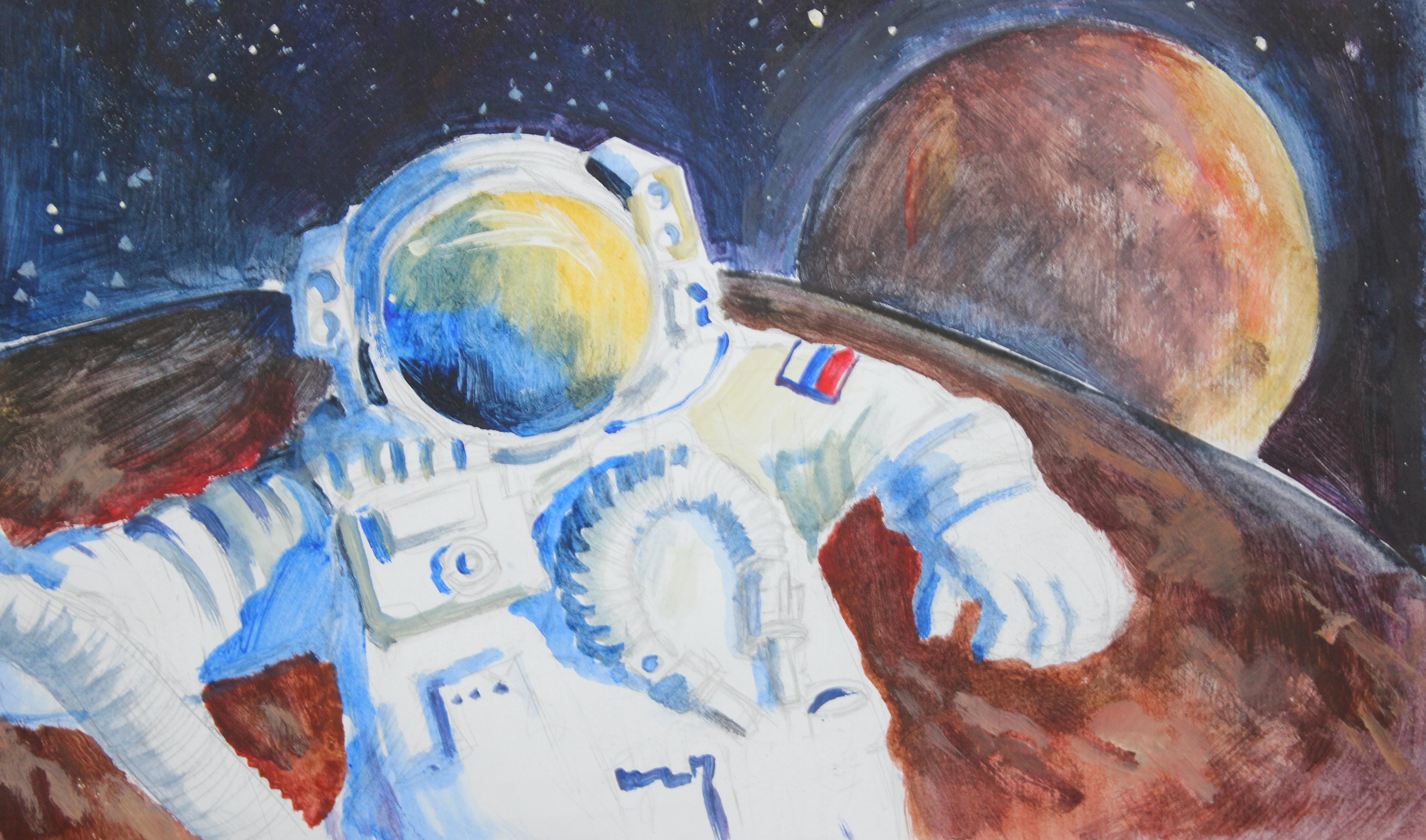 Картинки космонавтов я на уроке