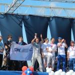 Мультиспортивная гонка в рамках фестиваля работающей молодежи «Стимул»