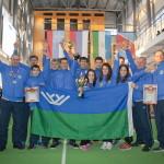 Югорские спортсмены вернулись чемпионами России по пожарно-прикладному спорту