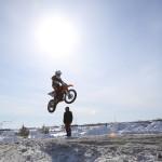 Спортсмены Югры и Ямала встретились на Зимнем кубке по мотокроссу