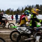 Зимний кубок Югры по мотокроссу нашел своих победителей в Сургуте