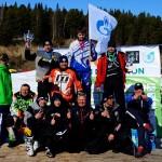 Кубок победителя соревнований по снегоходному кроссу в Югре завоевал гость из Нового Уренгоя