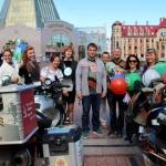 Мототур «Победа в каждом из нас» финишировал в Ханты-Мансийске