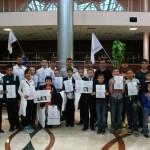 Кванториум Югры провел соревнования по робототехнике в рамках фестиваля «Гагарин №1»