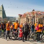 Восемь сотен югорчан почтили память участников Великой Отечественной войны велопарадами