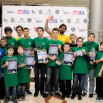 Юные инженеры Нефтеюганска заявили о себе на соревнованиях по робототехнике «КвантоБоты-2017»