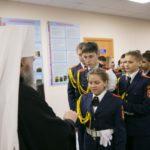 Священнослужитель Павел посетил кадетскую школу в Нялино