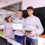 Кванторианцы из Нефтеюганска заняли третье место на Всероссийской инженерной олимпиаде НТИ