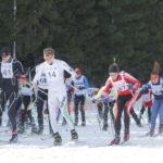 В столице Югры «Волонтерский космический забег» состоялся на лыжах