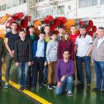 Нефтеюганские кванторианцы запустили ракету с Байконура