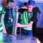 Участники летнего форум-центра побывали в Кванториуме Нефтеюганска