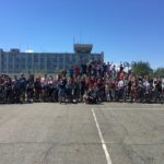 В Нефтеюганске День молодежи встретили на Велосипедах