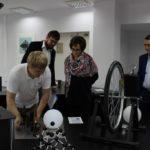 Кванториум столицы Югры продолжает принимать важных гостей – сегодня детский технопарк посетила Екатерина Лахова