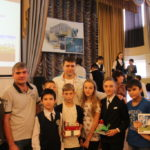 Педагоги Кванториума оценили работы участников соревнования по конструированию из Lego, которое прошло в школе №3
