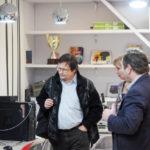 Представитель проекта «Школьная лига РОСНАНО» побывал в гостях у кванторианцев