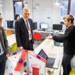 Детский технопарк «Кванториум» в Нефтеюганске посетили участники Всероссийской конференции