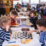 Команда школьников из Пять-Яха приняла участие во Всероссийских соревнованиях по шахматам «Белая ладья»