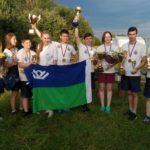 Югорчане заняли третье место на Всероссийских соревнованиях «Школа Безопасности»