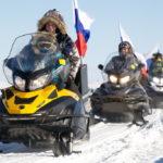 В окружной столице пройдет снегоходный пробег к месту слияния Оби и Иртыша