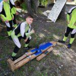 Югорчане успешно выступили на соревнованиях «Школа безопасности» и «Юный спасатель»
