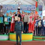 Юношеская сборная Югры по пожарному спорту – чемпионы России