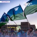#90вольновероятно и #90минутвЮгре: в честь юбилейной даты округ проводит конкурсы