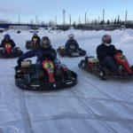 В Югре прошли соревнования по зимнему картингу «ICE Nord Kart»