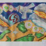 В выставке-конкурсе «Космос» выставили более 80 работ молодых югорчан