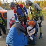 Будущие спасатели прошли испытания мобильной «Лаборатории безопасности»